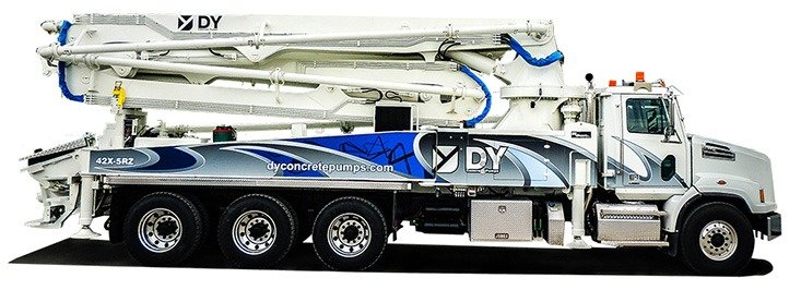 DY Concrete Pumps 42X-5RZ pump truck