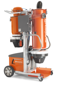Husqvarna DC 6000 dust collector available from DY Concrete Pumps