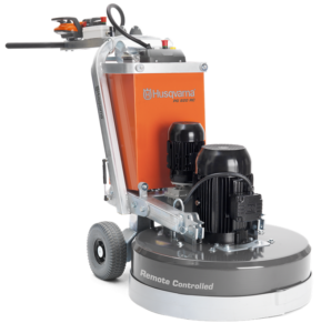 Husqvarna PG 820 RC remote-controlled concrete floor grinder from Dy Concrete Pumps