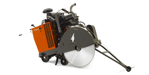 Husqvarna FS 9900 D floor saw equipment from DY Concrete Pumps