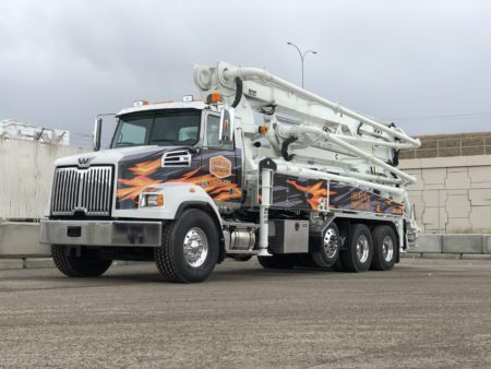 38 Meter Concrete Boom Pumps | DY Concrete Pumps