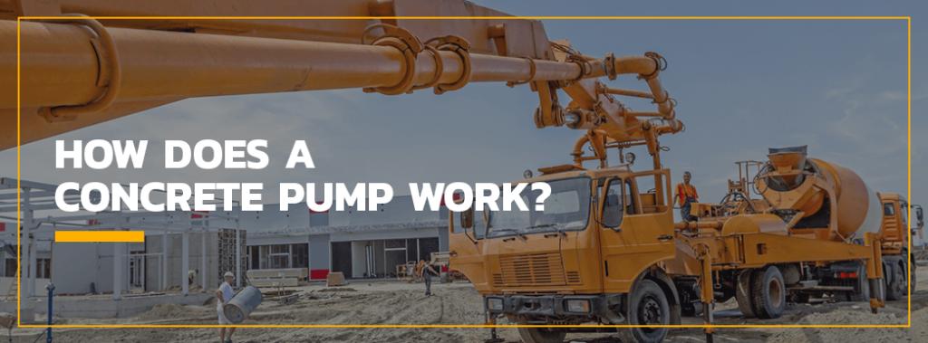 How Does a Concrete Pump Work?