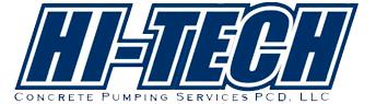 Hi-Tech Concrete Pumping Services logo